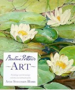 *EXCELLENT - LIKE NEW CONDITION* BEATRIX POTTER POTTER'S ART BY ANNE HOBBS HCDJ - £55.10 GBP