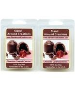 100% Soy Wax Melt Tarts - Set of 2 - Chocolate Covered Cherries: Sweet m... - $236,31 MXN