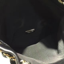 AUTHENTIC 2015 CHANEL QUILTED BLACK LAMBSKIN BACKPACK BAG GHW image 8