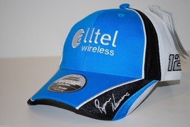 NASCAR CHASE AUTHENTICS  CAP HAT - ALLTEL WIRELESS 2008 PITCAP - #12 RYA... - $16.14