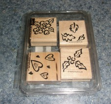 Brand New Stampin Up Seasonal Images Set 1998 For Dog Rescue Charity - $8.49