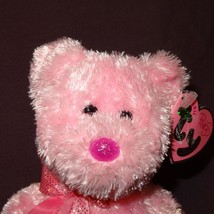 Dazzler Bear Pink Ty Beanie Baby Plush Stuffed Animal Toy 2004 with Tag  - $8.21
