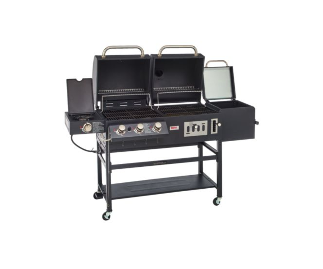 barbeque grill charcoal grill bbq smoker grill combo outdoor backyard deck bbq barbecues. Black Bedroom Furniture Sets. Home Design Ideas