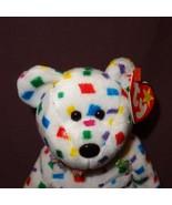 Ty 2K Bear Ty Beanie Baby Plush Stuffed Animal Toy 2000 Tush Tag 1999 - $99.99