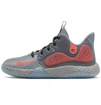 NIB NIKE $65 KD TREY 5 VII Grey Kids Basketball Athletic Shoes Child Boy 3Y - $42.57