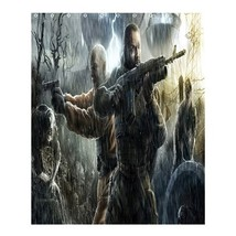 Shower Curtain Stalker Call Of Pripyat Shooter Survival Adventure Horror - $31.00+