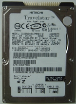 "IC25N060ATMR04-0 ibm 60gb 4200rpm 2.5"" IDE Hard Drive - $14.15"