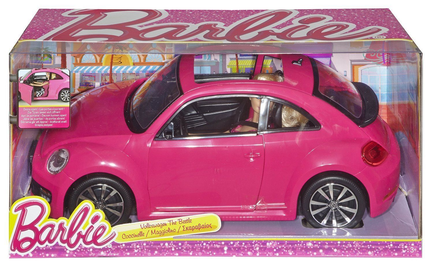 barbie pink tastic volkswagen beetle and and 50 similar items. Black Bedroom Furniture Sets. Home Design Ideas