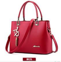 Hot New Women Shoulder Bags Leather Tote Bags Medium Women Handbags,Purse F092-1 - $38.99