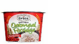 Grace Instant Oatmeal Porridge 2.82 Oz (Pack of 6) - $44.55