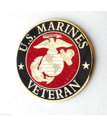 US MARINE CORPS VETERAN USMC MARINES LAPEL PIN ... - $5.59