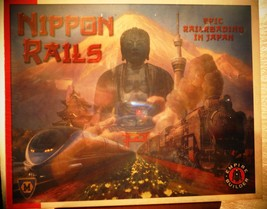 NIPPON RAILS by Mayfair Games 2011 Railroading in Japan Empire Builder 4508 - $18.68