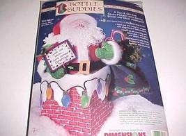 "Dimensions 1999 Bottle Buddies Toy Man Santa Craft Project 16"" #62169 Tall New - $16.81"