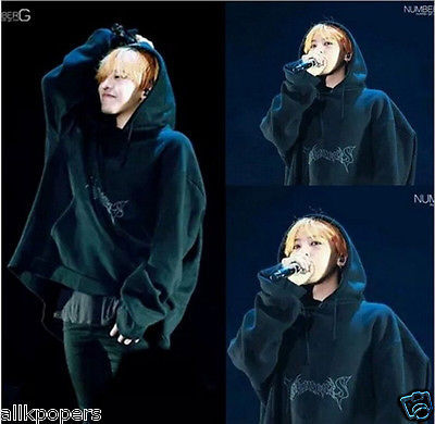 K-POP Bigbang GD G-Dragon New Made Tour Sweater BTS Jungkook Cap Hoodie Pullover for sale  USA