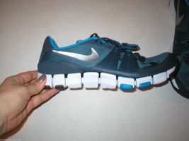 Womens Nike Shoes Mens 12 11 New Flex Blue Training Sneakers Running Gray Z1qP7pwn