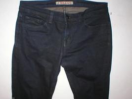 New J Brand Jeans Pencil Leg 29 30 X 32 Skinny Stretch Dark Womens Venom Coated image 2