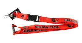 Aminco Oregon State Beavers Lanyard Keychain Id Ticket NCAA - Orange - $10.12