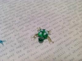 Micro Miniature Glass Animal Frogs Handmade Blown Glass Collectible USA image 3