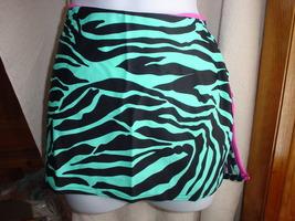 Victoria's Secret Swim Skirt Zebra Print XSmall - $18.99