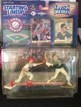 1999 Starting Lineup Double Classics Mark Mcguire  - $14.00
