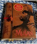 Mulan Journal - Live Action Film Brand New Disney Store 2020 - $39.00