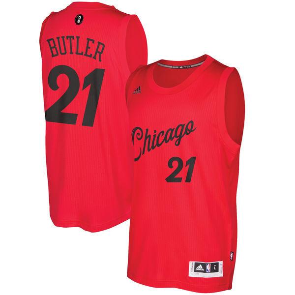 Jimmy Butler Chicago Bulls 2016 NBA Christmas Swingman ...