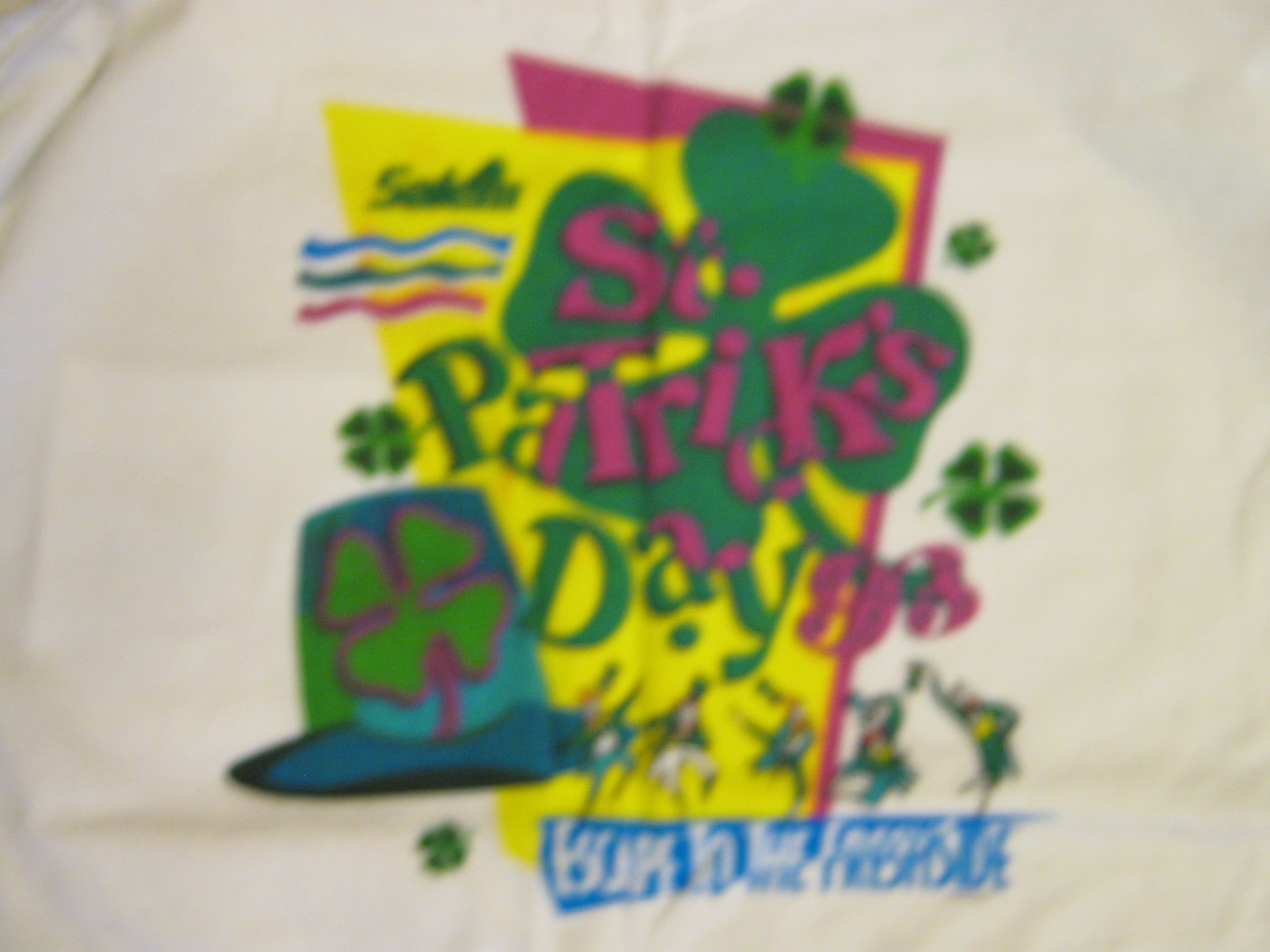 Salem Cigarettes , St.Patty's Day , 1993 , T-Shirt , New , Never Worn ! , Adult