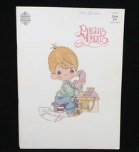 Precious Moments PM3 Dear Jon Cross Stitch Pattern Booklet  - $3.29