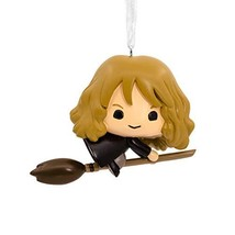 Hallmark Christmas Ornaments, Harry Potter, Hermione on Broomstick Ornament - $13.23