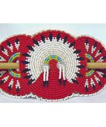 Native American Beaded Hair Barrette  - $40.08