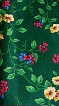 Longaberger Remembrance Inaugural Liner ~Emerald Vine Fabric - $12.68