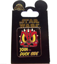 Disney Star Wars Join the Duck Side Trading Pin Theme Parks New Carded - $19.95