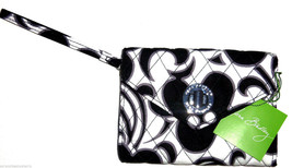 Vera Bradley Your Turn Smartphone Wristlet Day & Night Black White - $49.95