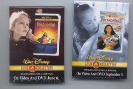 Disney Pocahontas II & Meeko Gold CM Promo Pin/Pins - $0.99