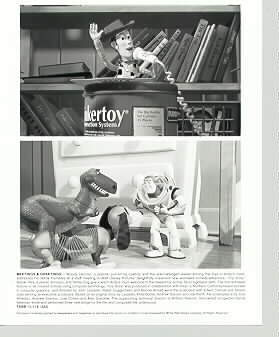 Toy Story 1 Original Photo Release Photo