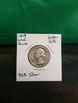1949 Washington Quarter Better Date 90% Silver!!! LOOK!!!  image 1