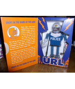 Futurama URL Police Robot Action Wind Up Tin Toy - $125.99