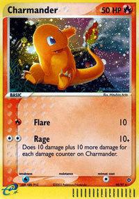 Charmander 98/97 Holo Rare EX Dragon Pokemon Card