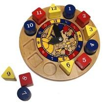 Hickory Dickory Dock Clock - Holgate Toys - $33.00