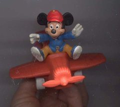 Disney Mickey Airplain Pilot rare Figurine - $15.99