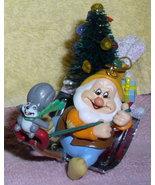 Disney Snow White Happy Squirrel Chipmunk figurine - $21.99
