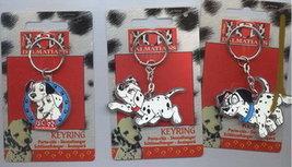 Disney 101 Dalmatians rare set of 3 Key Chains - $15.99