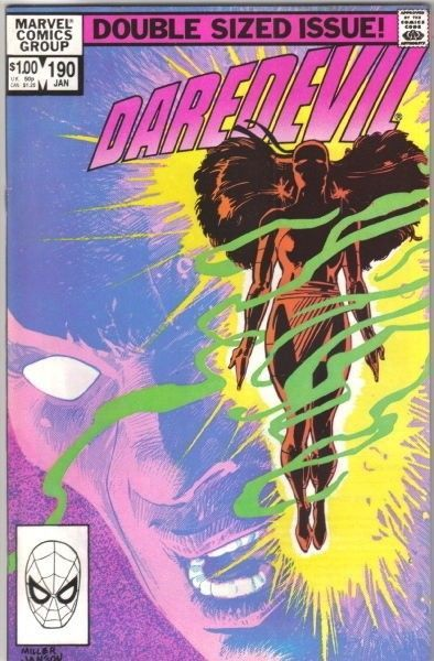 Daredevil Comic Book #190 Marvel Comics 1983 NEAR MINT NEW UNREAD