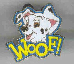 Disney 101 Dalmatians Woof! Lanyard CM only pin/pins - $21.15