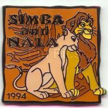 Disney Lion King Simba and Nala dated 1994 pin/pins - $21.15