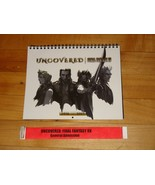 Uncovered: Final Fantasy XV official 2016-2017 wall calendar w/ event wr... - $8.09