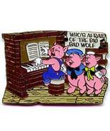 Disney The Three Little Pigs at a piano retired pin/pin - $29.99