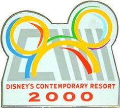 Disney WDW Contemporary Resort pin/pins - $18.39