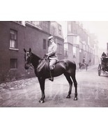 Vintage Circa 1907 Man On Horse Picture (8X10) Fine Art Print Antique Old Photo - $7.95