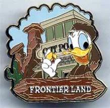 Disney Donald Duck Frontierland Pin/Pins - $21.15